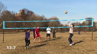 Prospect Park Volleyball Justin - 01/21/2018