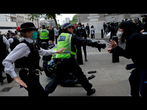 'Pathological hypocrisy' at the heart of UK race-based protests