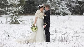 Leavenworth Washington Snowy Winter Wedding Film Trailer: Jennifer + Kyle Thumbnail