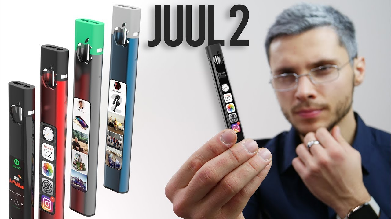 Introducing Juul 2, by Apple. (Apple Parody)