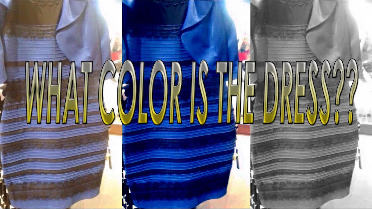 White and gold and blue and black dress - The Dress Real Colors Proof White And Gold Or Blue And Black Youtube