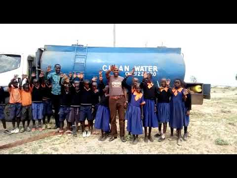 Africa Thriving Water Delivery to Risa Primary School