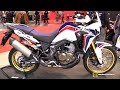 2016 Honda Africa Twin with SC Project Exhaust - Walkaround - 2016 EICMA Milan