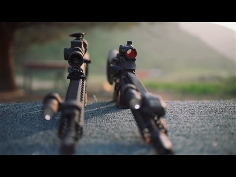AR15 Trijicon TR24 1-4x Rifle Scope