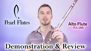 Pearl Alto Flute PFA-206 / Demo & Review
