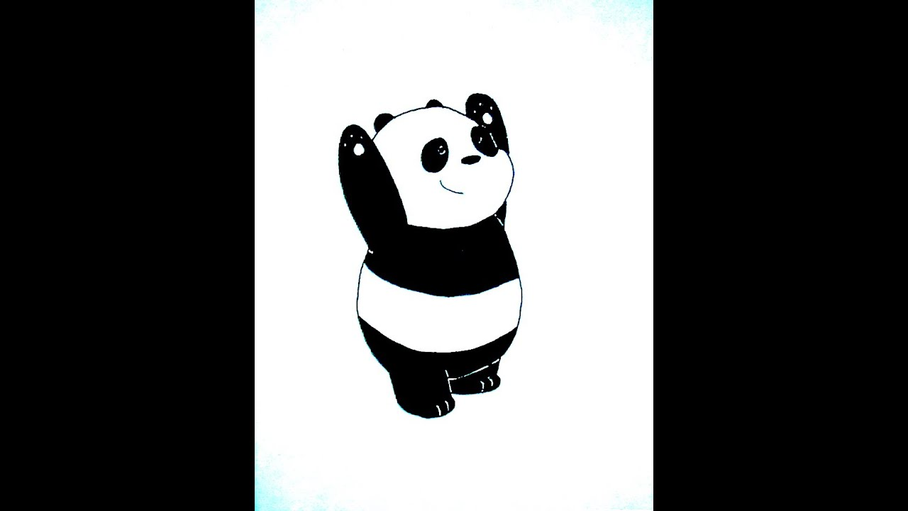 How To Draw Panda Bear, Como Desenhar Panda, Como Dibujar