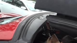Open top of Chevrolet  camaro
