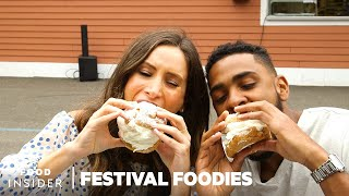The Big E Festival: Giant Meatballs & Cream Puffs | Festival Foodies