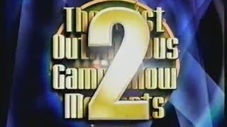 The Most Outrageous Game Show Moments 2 (2002)