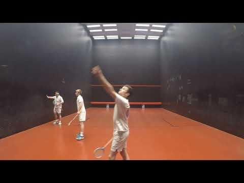 2018 British Open Rackets Doubles Final