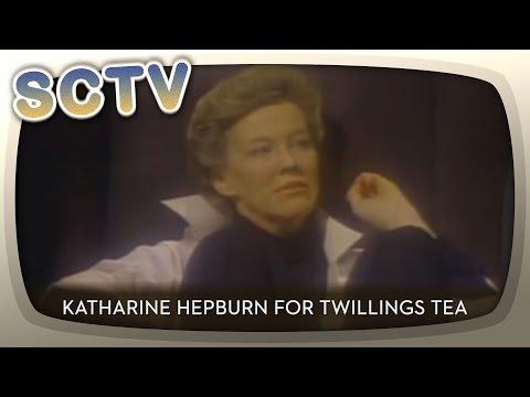 SCTV  Katharine Hepburn for Twillings Tea