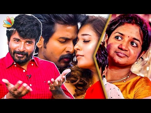 My Wife will Avoid Watching my ROMANTIC Scenes : Sivakarthikeyan Interview, Aarthi | Seemaraja