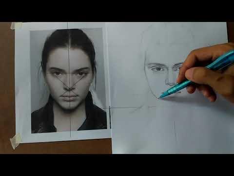 วิธีวาดภาพเหมือนแบบใหม่ ( ทดลอง 1 )