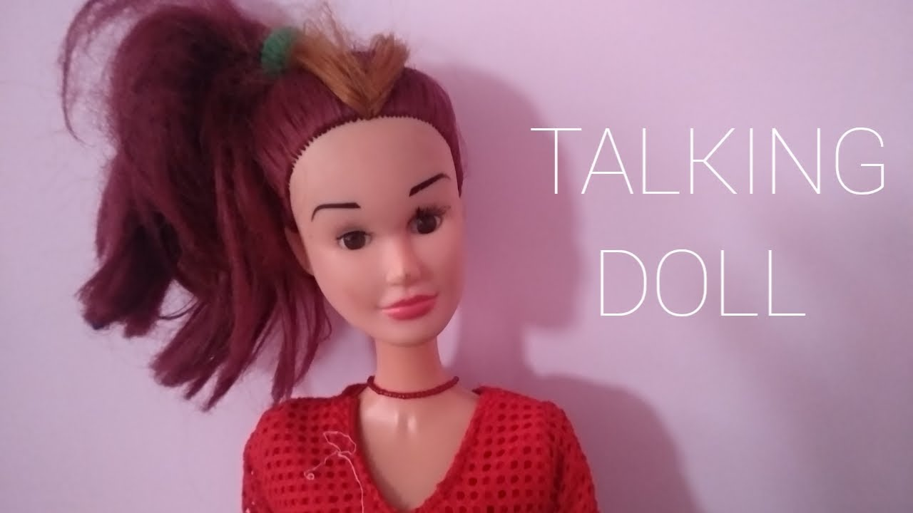fashion obsessed talking doll thinks - 1280×720