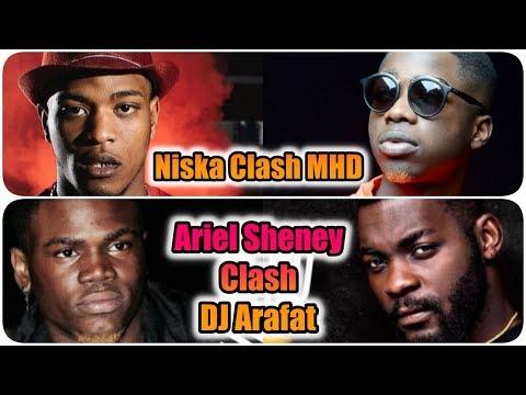Niska clash MHD 🔴 Ariel Sheney Clash DJ Arafat 🔵 Willstephe
