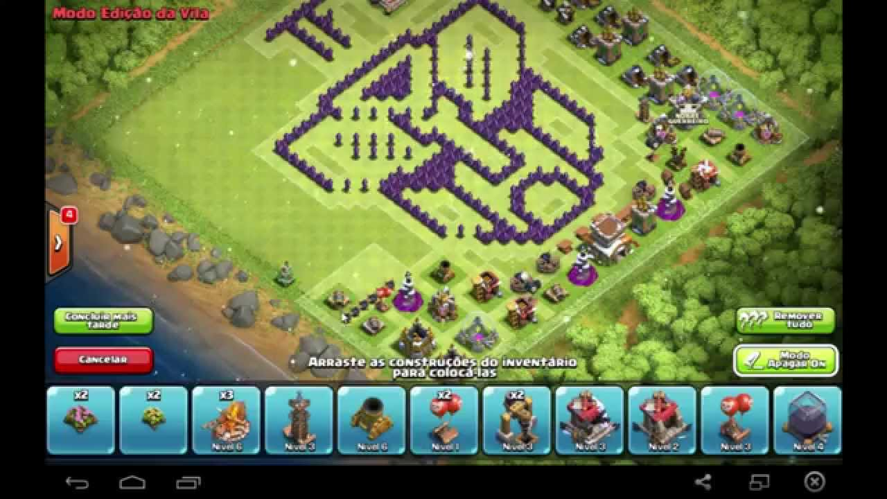 Base clash of clans th8 transformers youtube