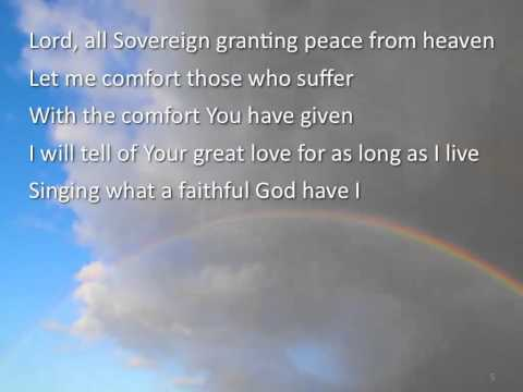 What a Faithful God ~ Robert Critchley ~ lyric video