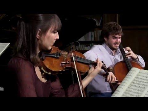 Schumann Trio N°2 opus 80 II - Trio Karénine