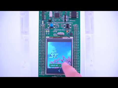 High Quality Graphics Using Only Internal Memory – TouchGFX