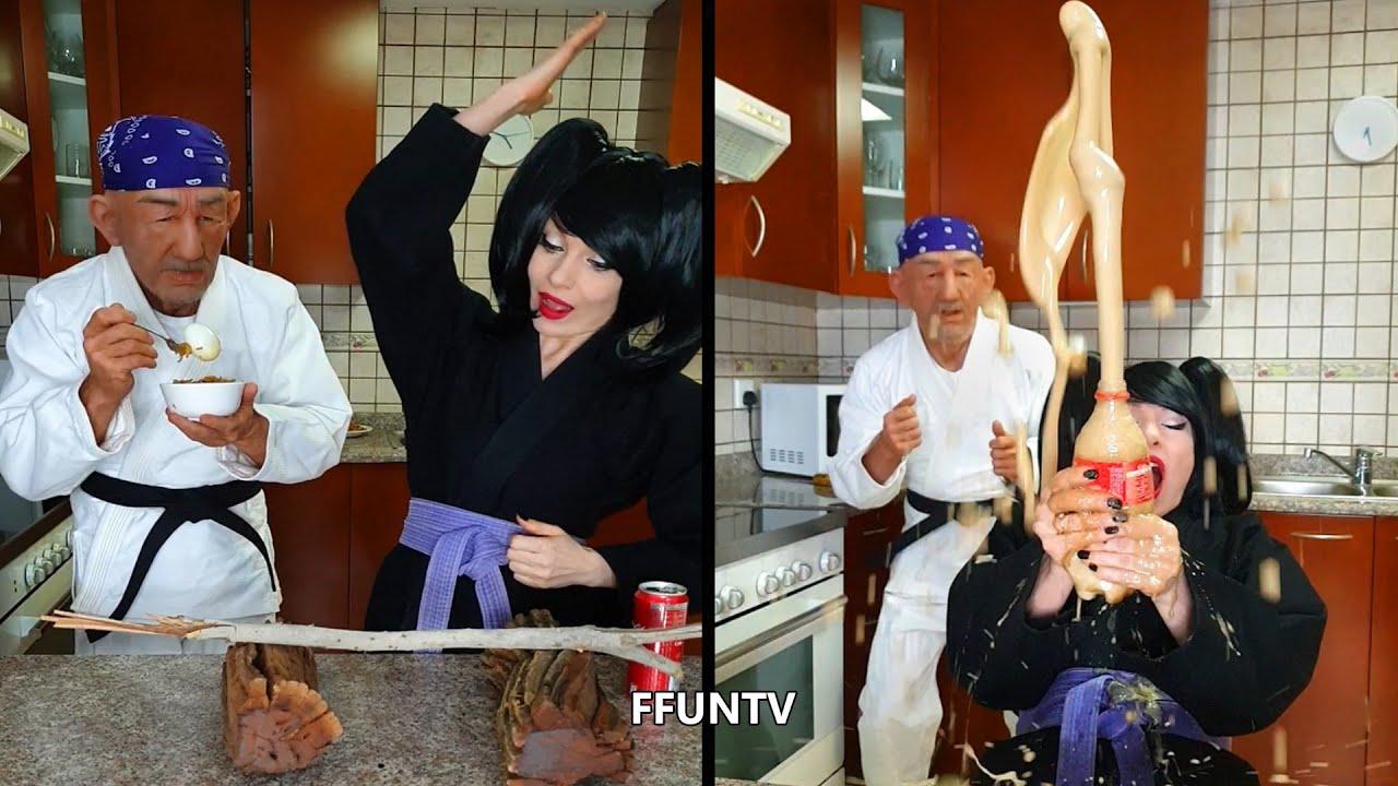 Healthy food vs junk food by FFUNTV