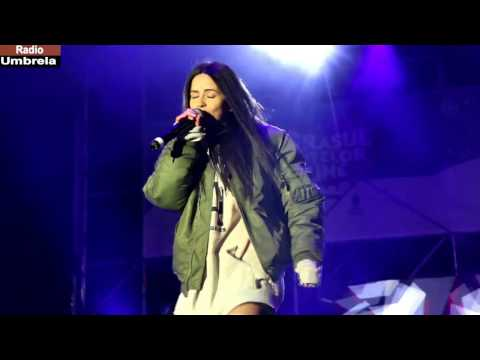 INNA - Christmas concert Bucharest dec. 2016 / Radio Umbrela
