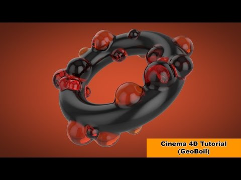 Geoboil-Picture without plugins (Cinema 4D Tutorial)