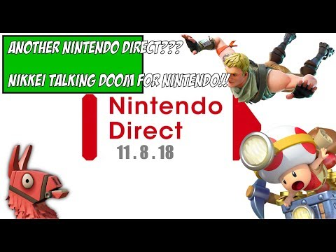 Another Nintendo Direct Thursday? | Nikkei talking doom for Nintendo | Nintendo Guru Daily