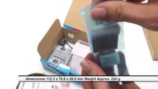 DIGITAL CAMERA CANON PowerShot D20 WATER RESISTANT TO 10 METERS AND FALLS REVIEW UNBOXING