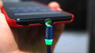 МАГНИТНЫЕ КАБЕЛИ НОВОГО ПОКОЛЕНИЯ - TOPK Magnetic USB Cable! Я В ШОКЕ!