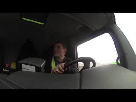 Trucker Benny (18) darf auf die großen Dinger | DASDING vor Ort