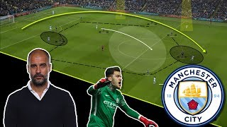 The Secret Behind Man City's Perfect Goalkicks | Tactical Analysis
