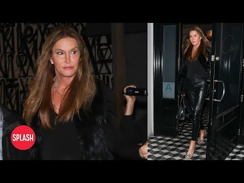 Caitlyn Jenner Sports Edgy Look for Night Out | Daily Celebrity News | Splash TV