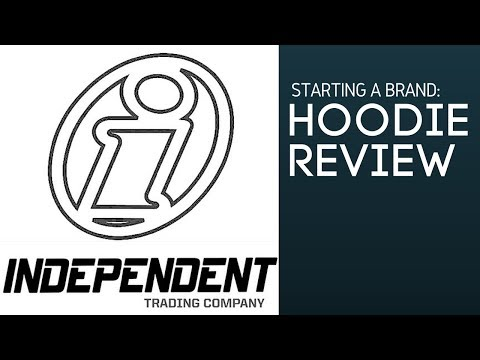 Independent Trading Co  - Hoodie Review