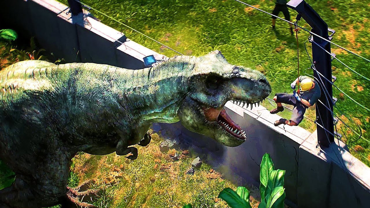 Jurassic World Evolution Bande Annonce Du Jeu Video 2018 Youtube