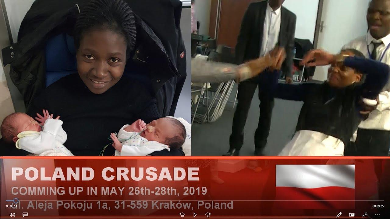 POLAND CRUSADE 26th-28th  April 2019 with PROPHET JULIUS O  EGEONU