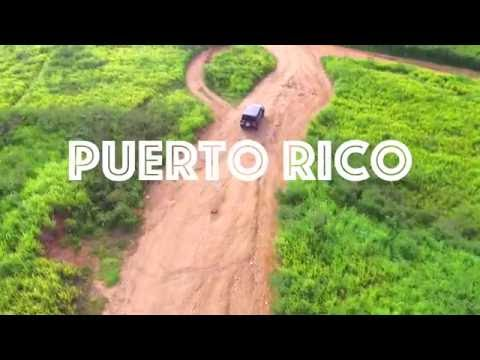 BEAUTIFUL PUERTO RICO (Waterfalls, Beaches, Caves, Castles)