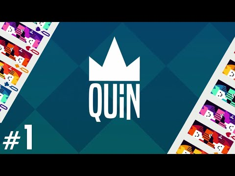Quin - THE NEW UNO?! (4-Player Gameplay) |