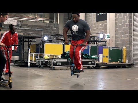 WWE Superstars Try Scooter With R-Willy