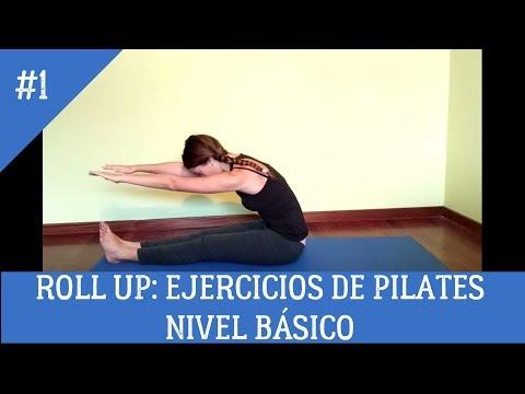 Roll Up: Ejercicios de Pilates. Nivel Básico