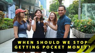 When Should We Stop Getting Pocket Money From Our Parents? | Word On The Street