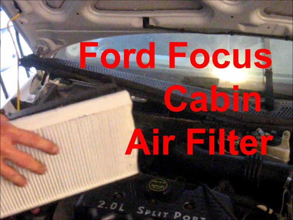 Ford Focus Se Fuse Box Cabin Air Filter Replacement 2002 Ford Focus Youtube