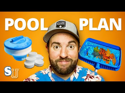 POOL MAINTENANCE For Beginners [Step-By-Step ACTION PLAN] | Swim University