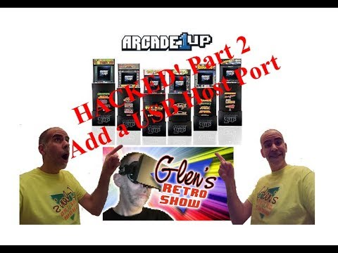 Arcade1UP Hacking Part 2  How to add a USB Host Port