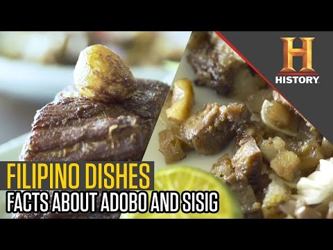 Find Out About Filipino Food. Adobo and Sisig | The History Hustle