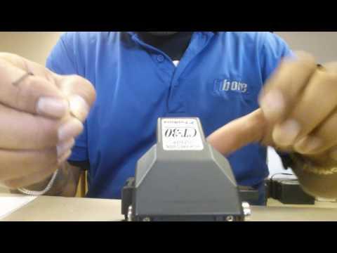 CT-30 Cleaver wheel change Fiber Optics