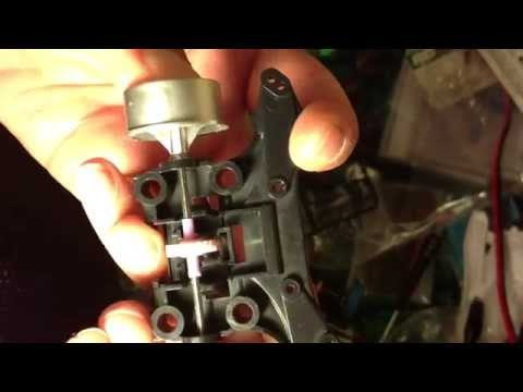 Tamiya mini 4wd Tutorial how to setup 100% floating gear system for MS chassis Part 34