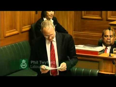 12.3.13 - Question 8: Phil Twyford to the Minister of Housing