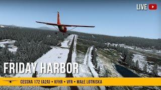 #53 Friday Harbor i okolice - Cessna 172 (A2A)