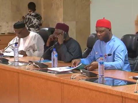 Senate Committee on Judiciary Visits Court of Appeal President, Bulkachuwa