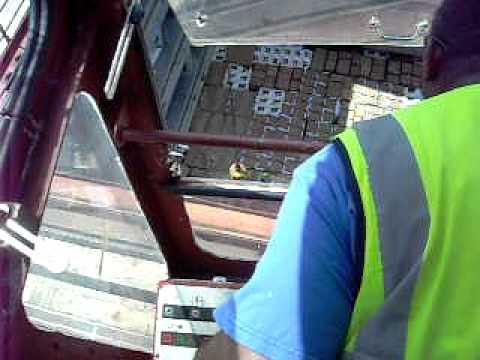 Ships Crane Operator's view